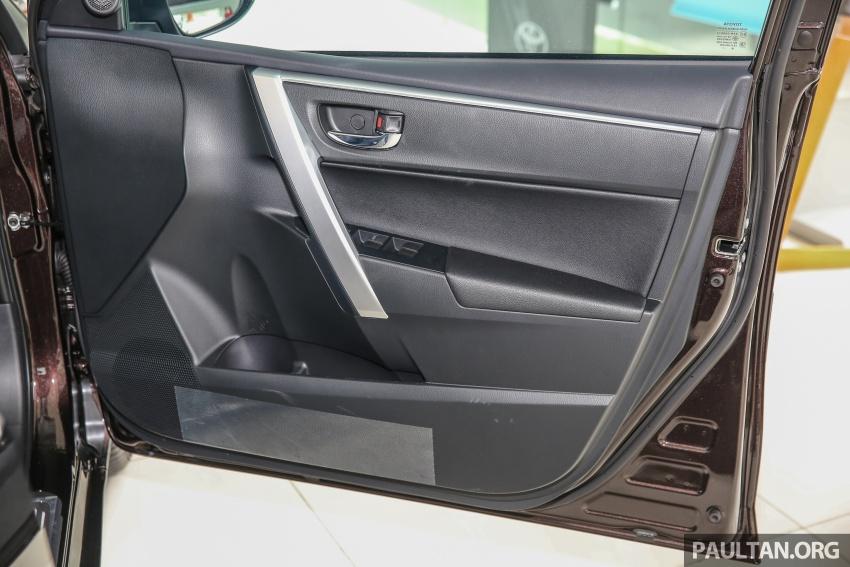 GALERI: Toyota Corolla Altis facelift 2016 kini di M'sia – 3 varian, 7 beg udara, VSC, harga dari RM117k Image #590361
