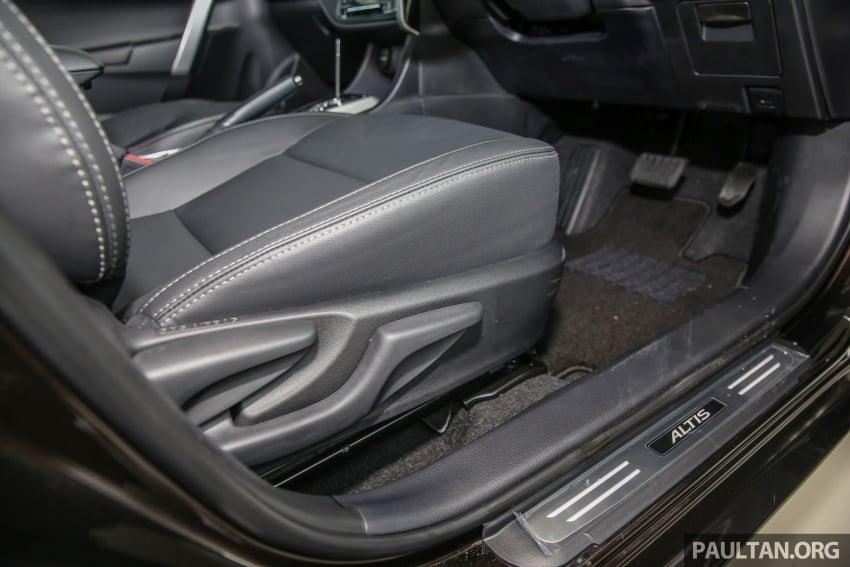 GALERI: Toyota Corolla Altis facelift 2016 kini di M'sia – 3 varian, 7 beg udara, VSC, harga dari RM117k Image #590409