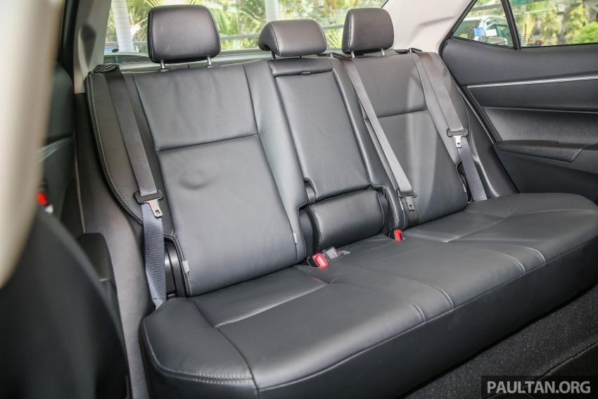 GALERI: Toyota Corolla Altis facelift 2016 kini di M'sia – 3 varian, 7 beg udara, VSC, harga dari RM117k Image #590414
