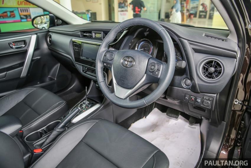 GALERI: Toyota Corolla Altis facelift 2016 kini di M'sia – 3 varian, 7 beg udara, VSC, harga dari RM117k Image #590350