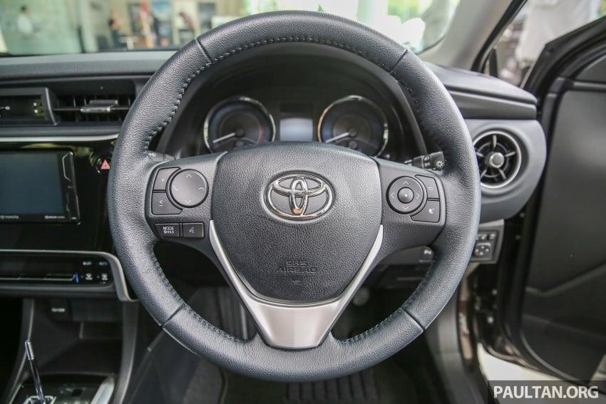 GALERI: Toyota Corolla Altis facelift 2016 kini di M'sia – 3 varian, 7 beg udara, VSC, harga dari RM117k Image #590351