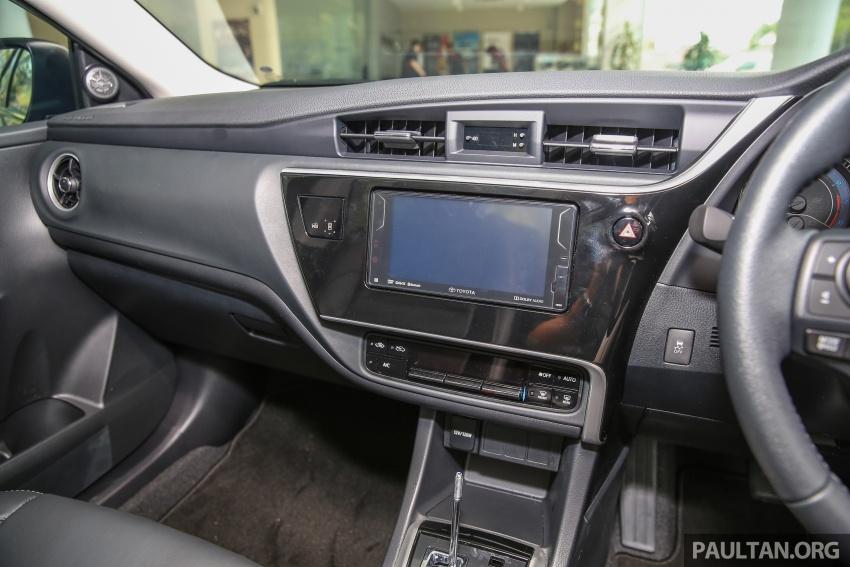 GALERI: Toyota Corolla Altis facelift 2016 kini di M'sia – 3 varian, 7 beg udara, VSC, harga dari RM117k Image #590353