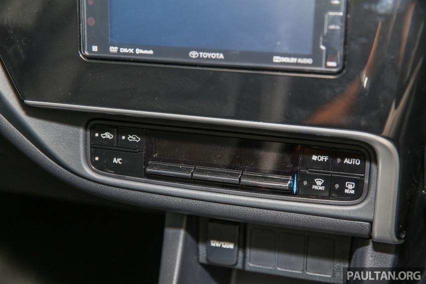 GALERI: Toyota Corolla Altis facelift 2016 kini di M'sia – 3 varian, 7 beg udara, VSC, harga dari RM117k Image #590356