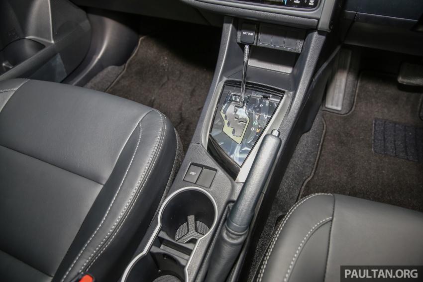 GALERI: Toyota Corolla Altis facelift 2016 kini di M'sia – 3 varian, 7 beg udara, VSC, harga dari RM117k Image #590357