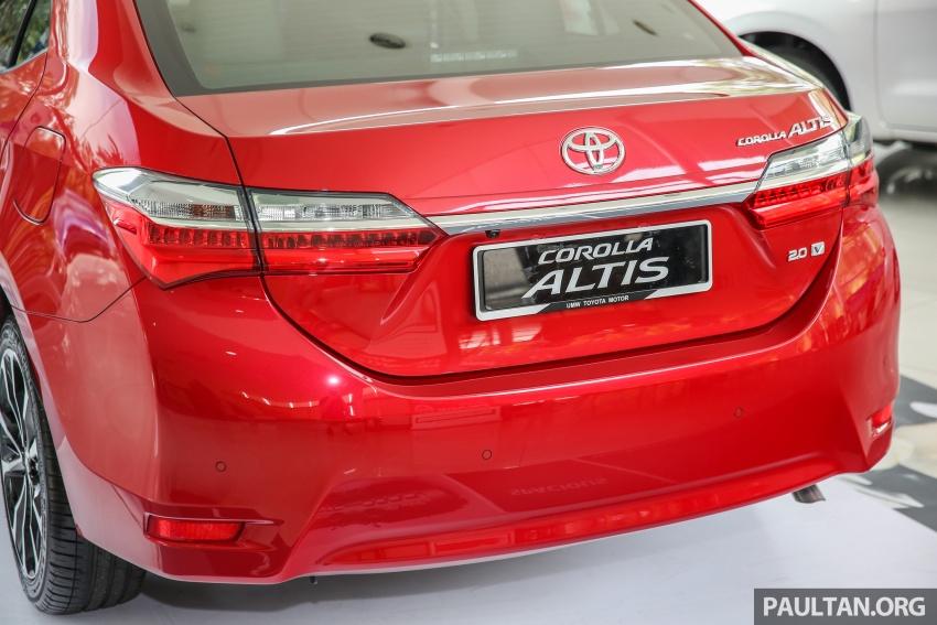 GALERI: Toyota Corolla Altis facelift 2016 kini di M'sia – 3 varian, 7 beg udara, VSC, harga dari RM117k Image #590299