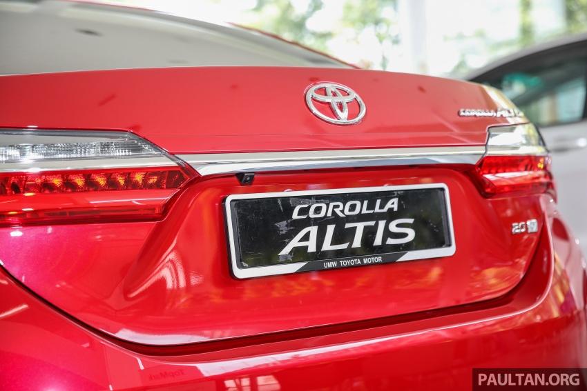 GALERI: Toyota Corolla Altis facelift 2016 kini di M'sia – 3 varian, 7 beg udara, VSC, harga dari RM117k Image #590302