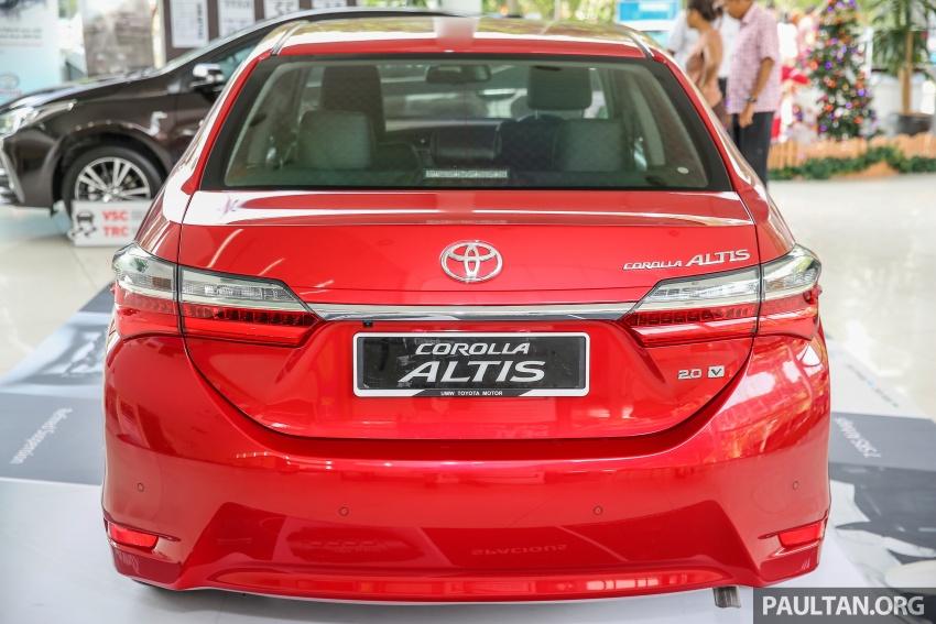 GALERI: Toyota Corolla Altis facelift 2016 kini di M'sia – 3 varian, 7 beg udara, VSC, harga dari RM117k Image #590291