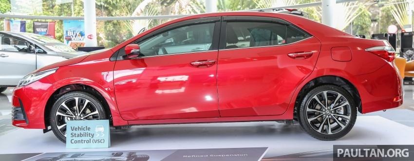 GALERI: Toyota Corolla Altis facelift 2016 kini di M'sia – 3 varian, 7 beg udara, VSC, harga dari RM117k Image #590292