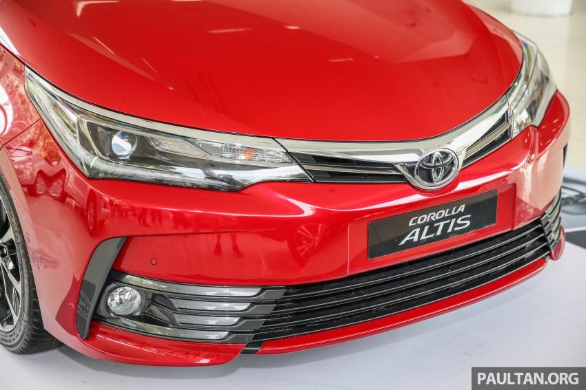 GALERI: Toyota Corolla Altis facelift 2016 kini di M'sia – 3 varian, 7 beg udara, VSC, harga dari RM117k Image #590293