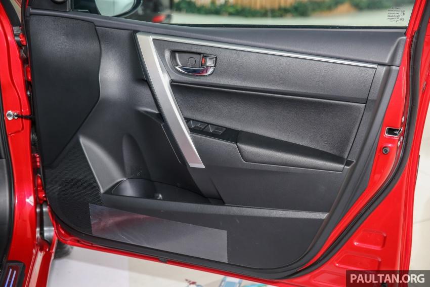 GALERI: Toyota Corolla Altis facelift 2016 kini di M'sia – 3 varian, 7 beg udara, VSC, harga dari RM117k Image #590312