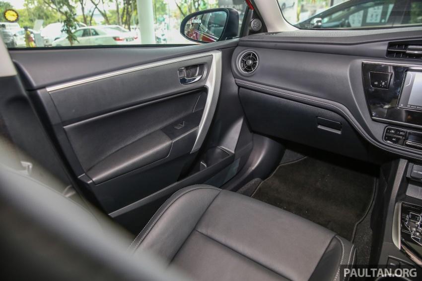 GALERI: Toyota Corolla Altis facelift 2016 kini di M'sia – 3 varian, 7 beg udara, VSC, harga dari RM117k Image #590317