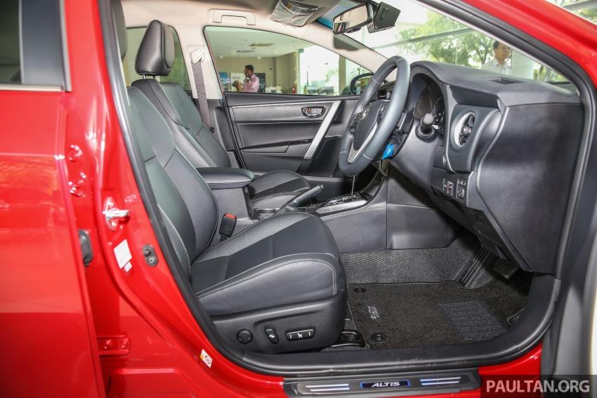 GALERI: Toyota Corolla Altis facelift 2016 kini di M'sia – 3 varian, 7 beg udara, VSC, harga dari RM117k Image #590318