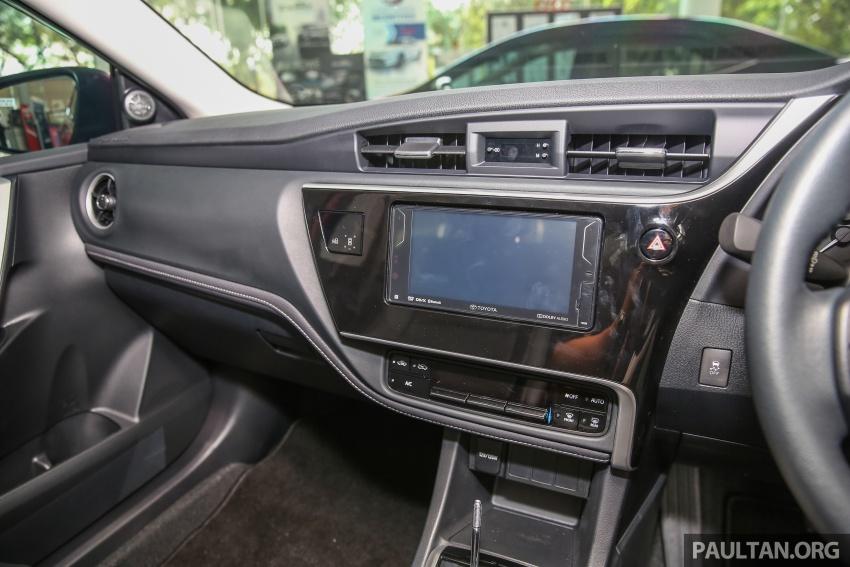 GALERI: Toyota Corolla Altis facelift 2016 kini di M'sia – 3 varian, 7 beg udara, VSC, harga dari RM117k Image #590278
