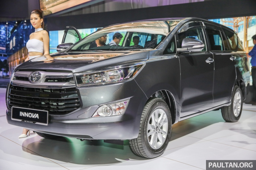 New Toyota Innova launched in Malaysia, from RM106k – 7 airbags, ESC, Dual VVT-i, more premium interior Image #588256