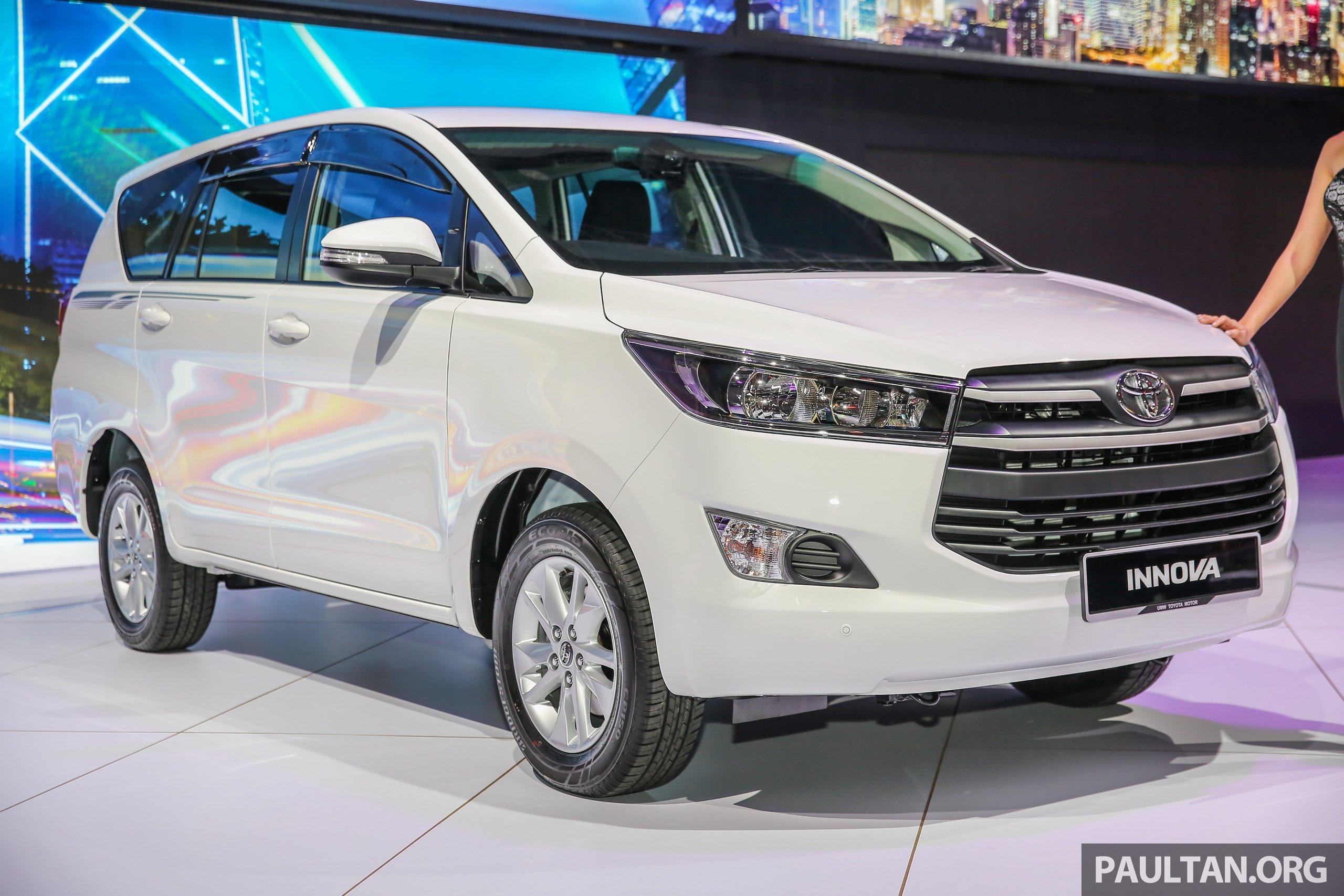 Toyota Innova Diesel Engine Considered For M Sia