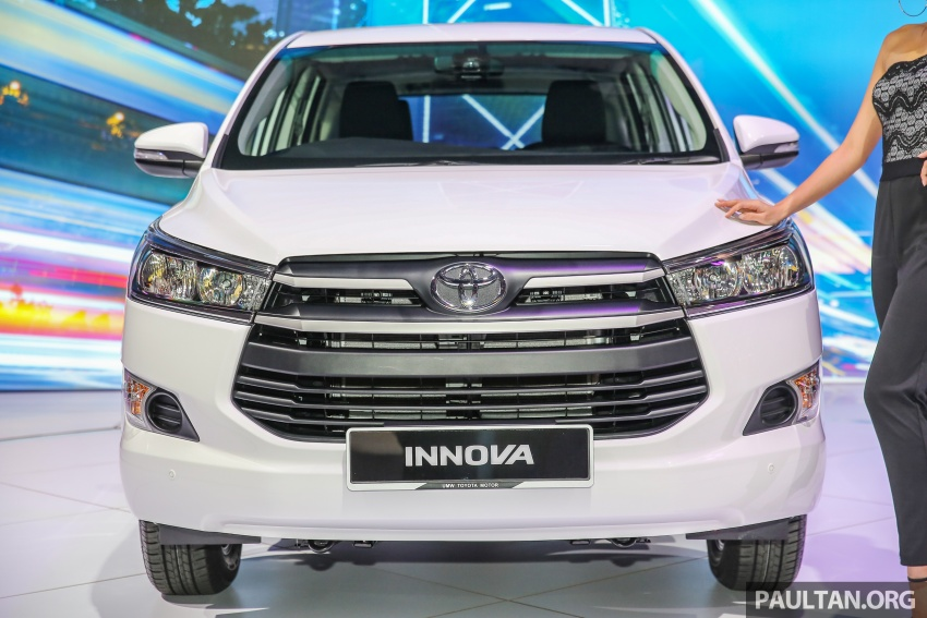 New Toyota Innova launched in Malaysia, from RM106k – 7 airbags, ESC, Dual VVT-i, more premium interior Image #588259