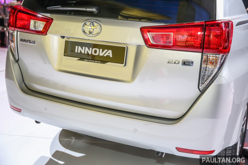 New Toyota Innova launched in Malaysia, from RM106k – 7 airbags, ESC, Dual VVT-i, more premium interior Image #588223