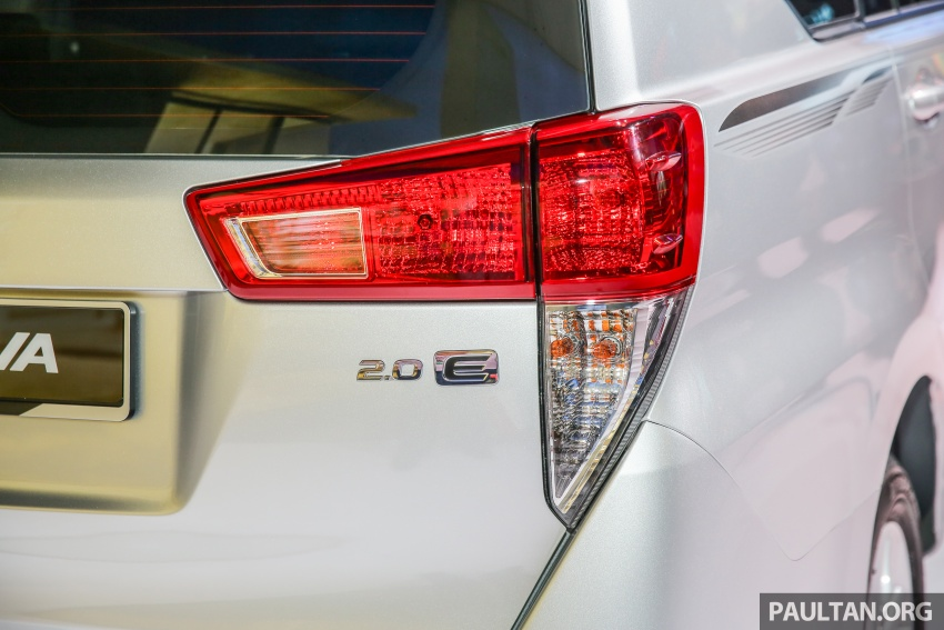 New Toyota Innova launched in Malaysia, from RM106k – 7 airbags, ESC, Dual VVT-i, more premium interior Image #588224
