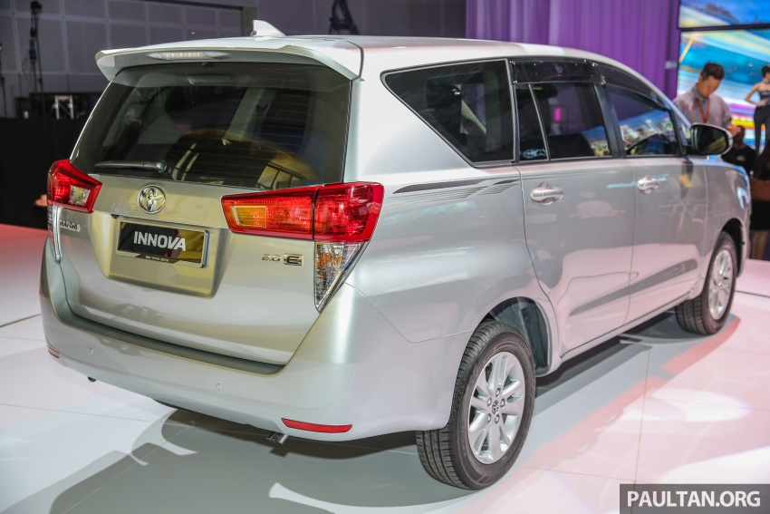 New Toyota Innova launched in Malaysia, from RM106k – 7 airbags, ESC, Dual VVT-i, more premium interior Image #588212