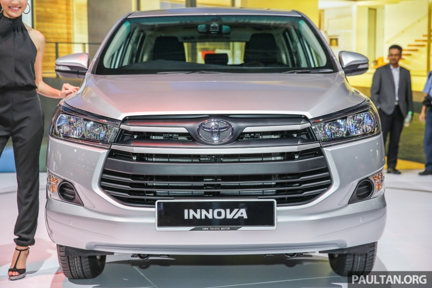 New Toyota Innova launched in Malaysia, from RM106k – 7 airbags, ESC, Dual VVT-i, more premium interior Image #588213