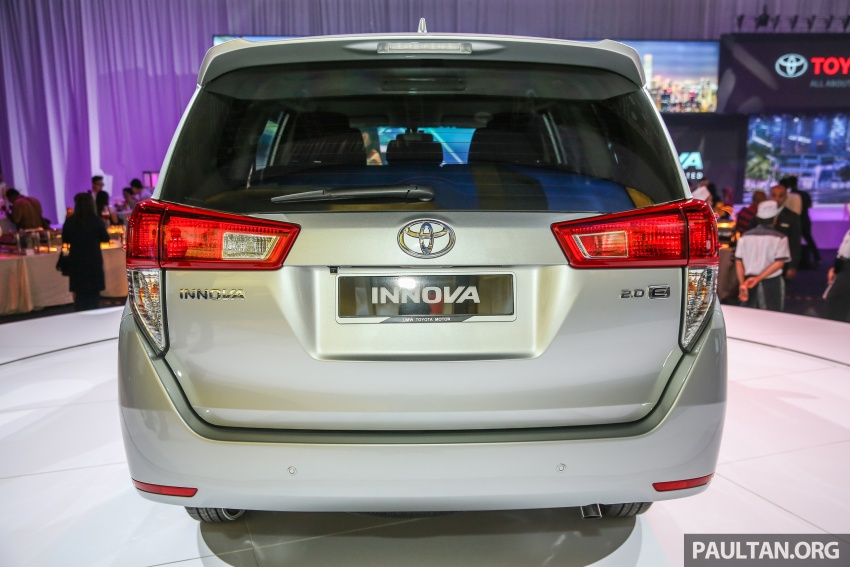 New Toyota Innova launched in Malaysia, from RM106k – 7 airbags, ESC, Dual VVT-i, more premium interior Image #588214