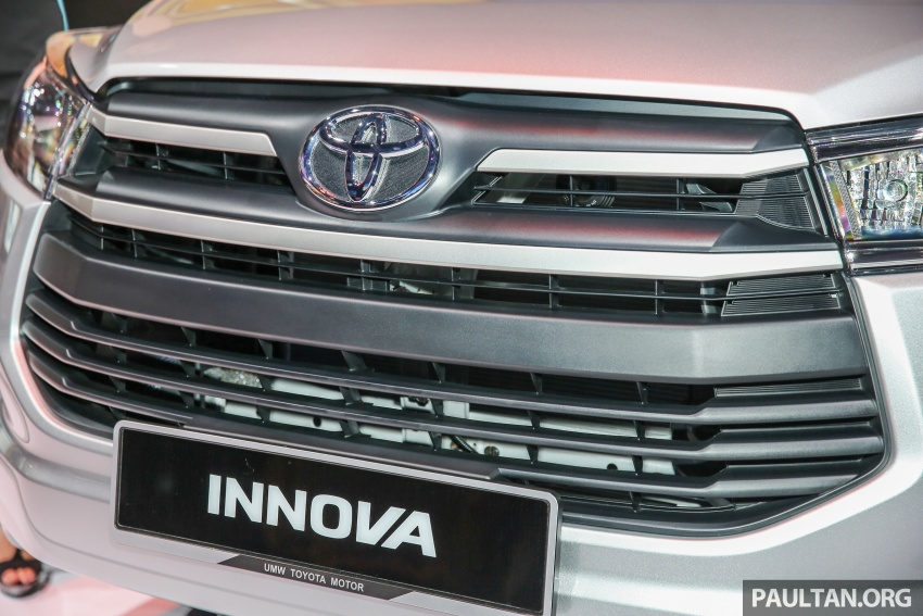 New Toyota Innova launched in Malaysia, from RM106k – 7 airbags, ESC, Dual VVT-i, more premium interior Image #588219