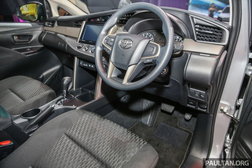 New Toyota Innova launched in Malaysia, from RM106k – 7 airbags, ESC, Dual VVT-i, more premium interior Image #588230