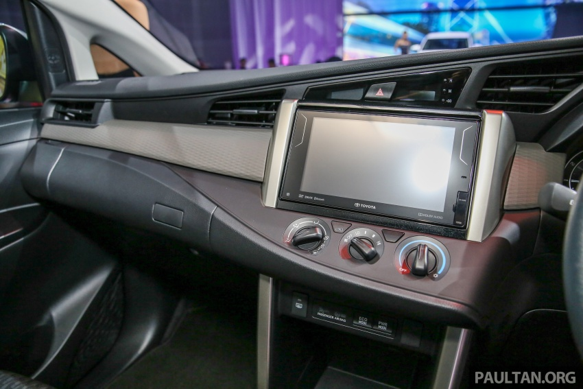 New Toyota Innova launched in Malaysia, from RM106k – 7 airbags, ESC, Dual VVT-i, more premium interior Image #588233