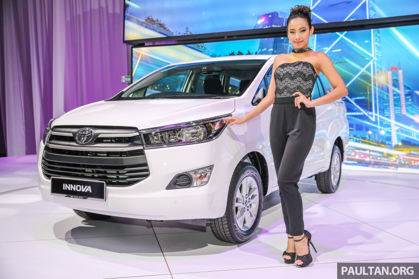 New Toyota Innova launched in Malaysia, from RM106k – 7 airbags, ESC, Dual VVT-i, more premium interior Image #588263