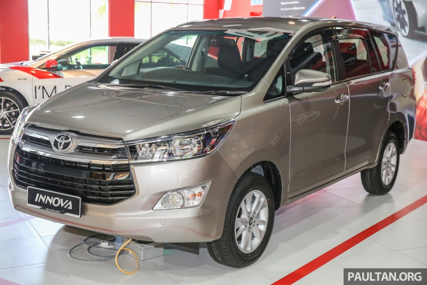 GALLERY: New Toyota Innova 2.0G on display – 8-seat MPV, Dual VVT-i, 6-spd auto, 7 airbags, VSC, RM126k Image #587562