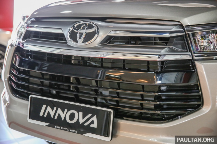 GALLERY: New Toyota Innova 2.0G on display – 8-seat MPV, Dual VVT-i, 6-spd auto, 7 airbags, VSC, RM126k Image #587572