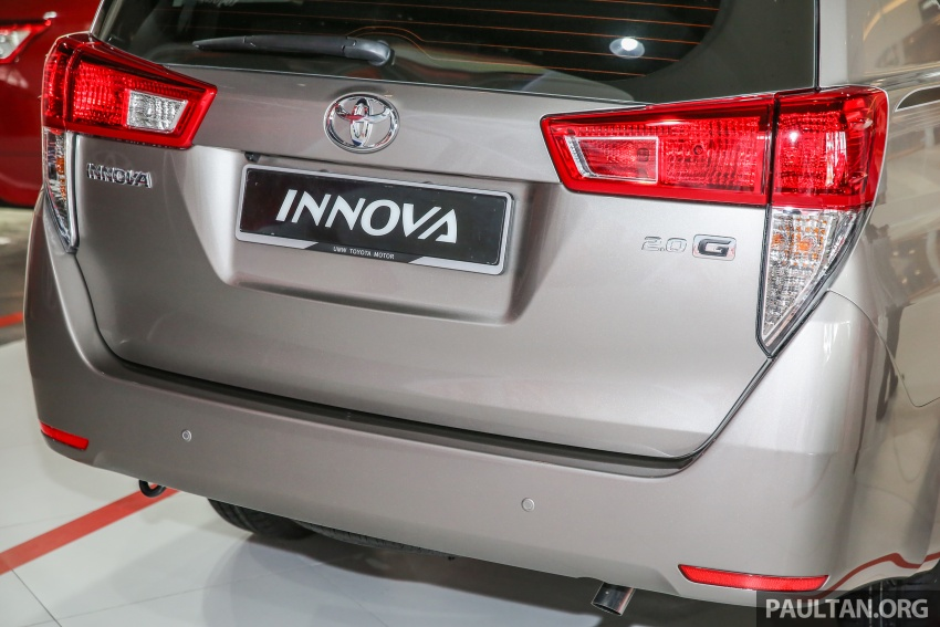 GALLERY: New Toyota Innova 2.0G on display – 8-seat MPV, Dual VVT-i, 6-spd auto, 7 airbags, VSC, RM126k Image #587579