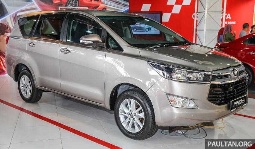 GALLERY: New Toyota Innova 2.0G on display – 8-seat MPV, Dual VVT-i, 6-spd auto, 7 airbags, VSC, RM126k Image #587563