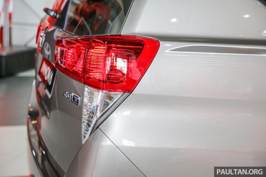 GALLERY: New Toyota Innova 2.0G on display – 8-seat MPV, Dual VVT-i, 6-spd auto, 7 airbags, VSC, RM126k Image #587582