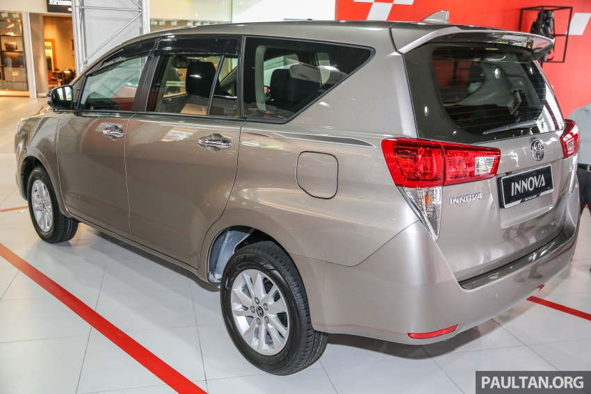GALLERY: New Toyota Innova 2.0G on display – 8-seat MPV, Dual VVT-i, 6-spd auto, 7 airbags, VSC, RM126k Image #587564