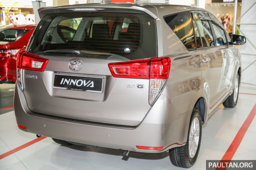 GALLERY: New Toyota Innova 2.0G on display – 8-seat MPV, Dual VVT-i, 6-spd auto, 7 airbags, VSC, RM126k Image #587565