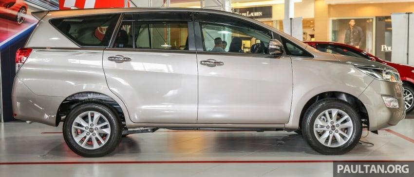 GALLERY: New Toyota Innova 2.0G on display – 8-seat MPV, Dual VVT-i, 6-spd auto, 7 airbags, VSC, RM126k Image #587567