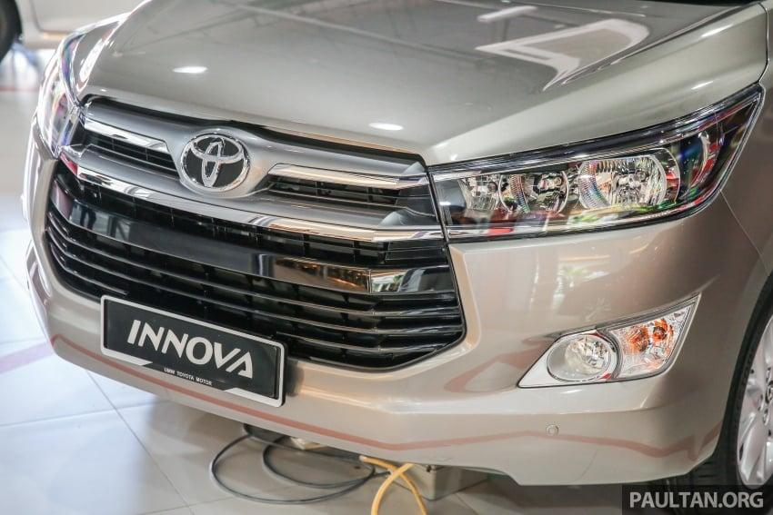 GALLERY: New Toyota Innova 2.0G on display – 8-seat MPV, Dual VVT-i, 6-spd auto, 7 airbags, VSC, RM126k Image #587568