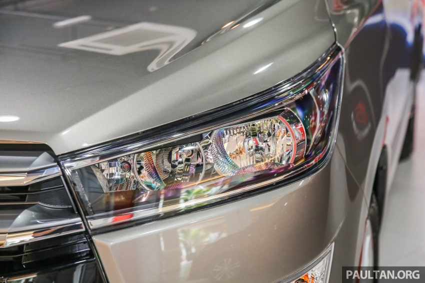 GALLERY: New Toyota Innova 2.0G on display – 8-seat MPV, Dual VVT-i, 6-spd auto, 7 airbags, VSC, RM126k Image #587569