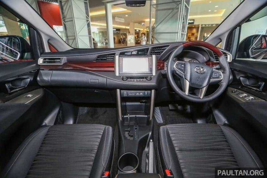 GALLERY: New Toyota Innova 2.0G on display – 8-seat MPV, Dual VVT-i, 6-spd auto, 7 airbags, VSC, RM126k Image #587589