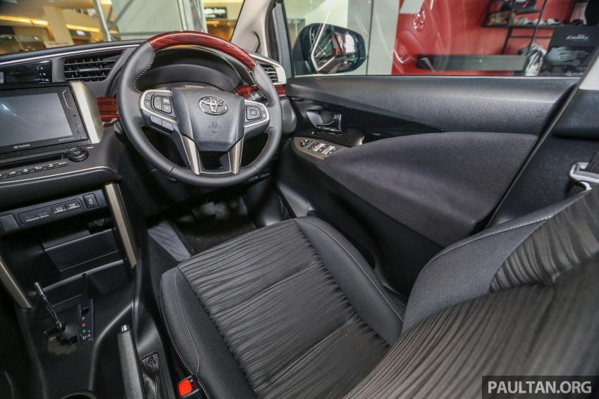 GALLERY: New Toyota Innova 2.0G on display – 8-seat MPV, Dual VVT-i, 6-spd auto, 7 airbags, VSC, RM126k Image #587616