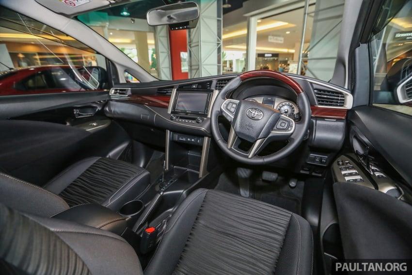 GALLERY: New Toyota Innova 2.0G on display – 8-seat MPV, Dual VVT-i, 6-spd auto, 7 airbags, VSC, RM126k Image #587617