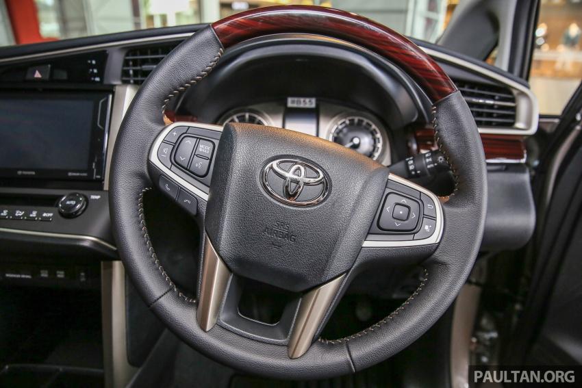 GALLERY: New Toyota Innova 2.0G on display – 8-seat MPV, Dual VVT-i, 6-spd auto, 7 airbags, VSC, RM126k Image #587591