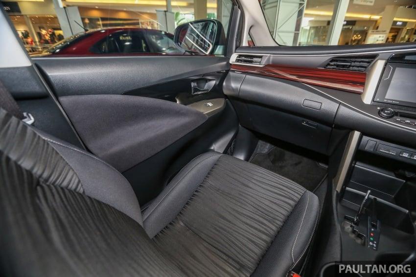 GALLERY: New Toyota Innova 2.0G on display – 8-seat MPV, Dual VVT-i, 6-spd auto, 7 airbags, VSC, RM126k Image #587618