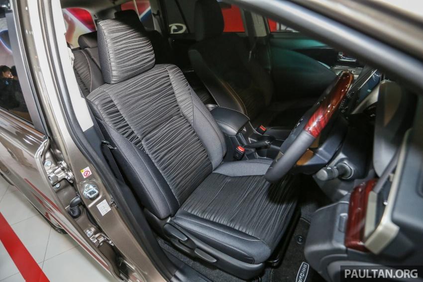GALLERY: New Toyota Innova 2.0G on display – 8-seat MPV, Dual VVT-i, 6-spd auto, 7 airbags, VSC, RM126k Image #587620