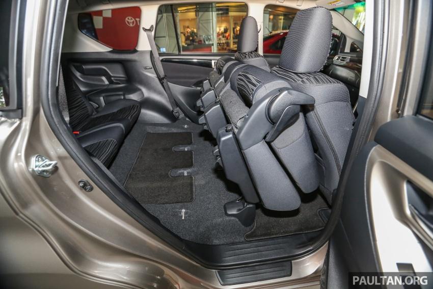 GALLERY: New Toyota Innova 2.0G on display – 8-seat MPV, Dual VVT-i, 6-spd auto, 7 airbags, VSC, RM126k Image #587623