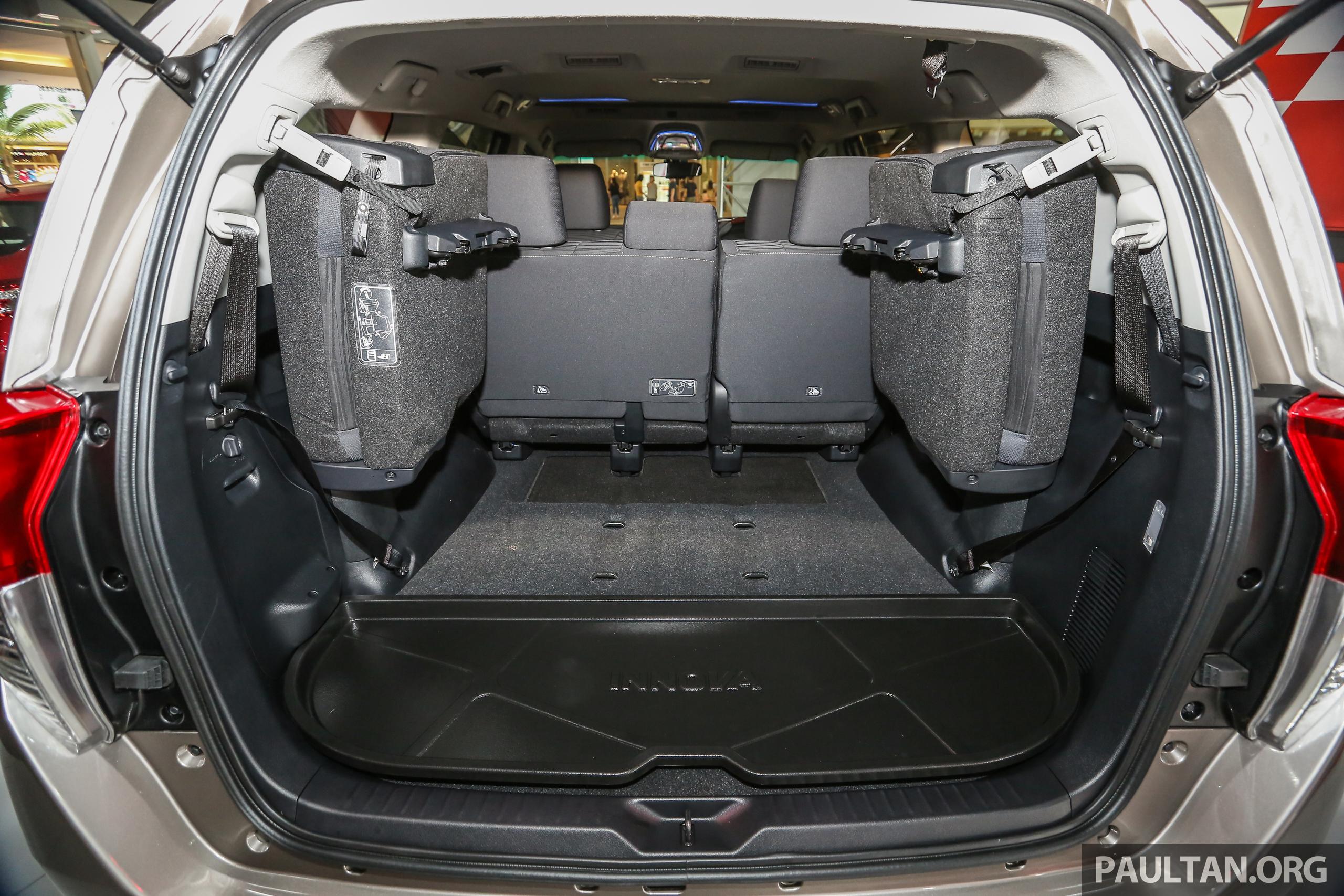 Gallery New Toyota Innova 2 0g On Display 8 Seat Mpv