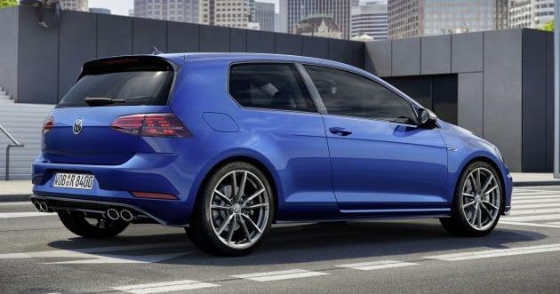 Volkswagen Golf R three-door - only 10 units, RM269k