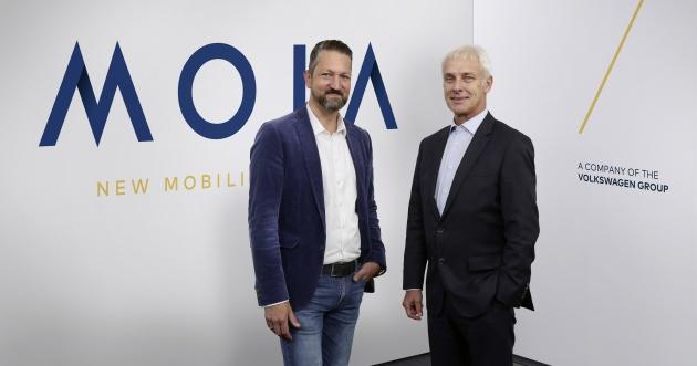 MOIA ? das neue Unternehmen für Mobilitätsdienste im Volkswagen Konzern