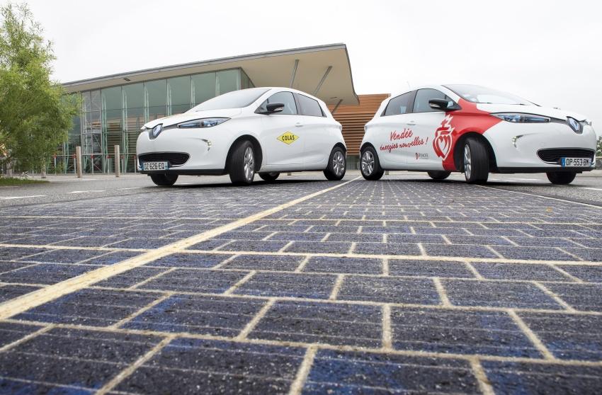 Perancis guna jalan solar Wattway pertama di dunia  – dapat hasilkan 767 hingga 1,500 kWh elektrik sehari Image #596393